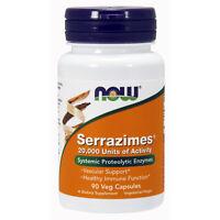 Serrazimes Systemic Proteolytic Enzymes 20,000IU 90 Veg Caps | Immune Support