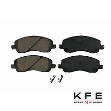 Premium Ceramic Disc Brake Pad FRONT New Set Plus Shims Fits Chrysler Mit KFE866