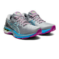 Asics Womens Gel-Kayano 27 Running Shoes Trainers Sneakers Silver Sports