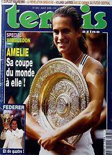 Tennis Magazine 2006: AMELIE MAURESMO Winbledon_ROGER FEDERER_TOMAS BERDYCH