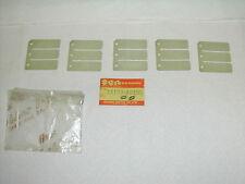 NOS SUZUKI 1980 RM250 Reed Valve Petal  P/N 13153-0300 (Qty 5)