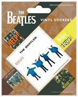 BEATLES help + 4 mini 2014 - VINYL STICKERS SET official merchandise SEALED