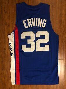 Men's New York Nets #32 Julius Erving Jersey
