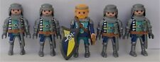Playmobil Novelmore   5 x Assorted Castle Knights  Good Condition