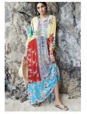NEW Johnny Was Seido Maxi Multicolored Dress Size Small Embroidered Summer Dress
