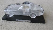Hofbauer 24% Crystal glass 1963 Chevy Corvette 3 window coupe  W. Germany 1980's