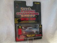 1960 IMPALA chevy LT BLUE  Racing Champions RC ERTL MINT  1:61 Scale nice