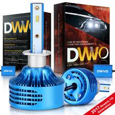 H1 6500K 16000Lm White LED Headlight Conversion Bulb High Lo Beam Kit Waterproof
