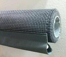 Rullo Rete Ricambio Zanzariera a molla serranda in Fibra sviluppo 1,60 lungh.1mt