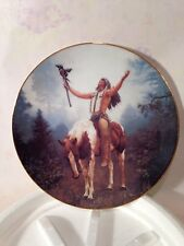 """2 Plates - The Hamilton Plate Collection """"Prairie Flower"""" and """"Deliverance"""""""