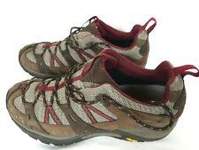 Merrel Gore-Tex Women's Hiking Brown Vibram Shoes Size 10