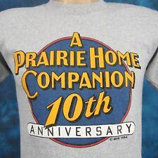 vintage 80s A PRAIRIE HOME COMPANION T-Shirt XS garrison keillor radio comedy