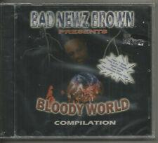 BAD NEWZ BROWN ENTERTAINMENT - BLOODY WORLD COMPILATION - T-BONE, FYYA, 6 FT , C
