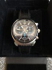 Bulova Curved Chronograph Watch