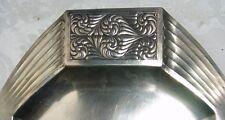 JOSEF HOFFMANN ? Antique Silver 800 Tray Alexander Strum Art Deco Jugendstil