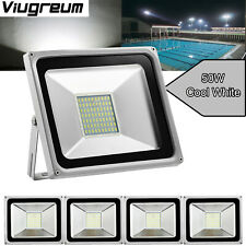 5X 50W Led Floodlight Landscape Outdoor Security Lamp Cool White 110V Viugreum