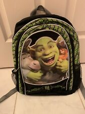 Shrek III Backpack with Donkey and Puss in Boots, Rare!!
