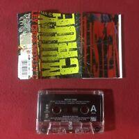 Motley Crue (self titled) 1994:Cassette EX+ copy w/ Fan Club Card Mail In Offer