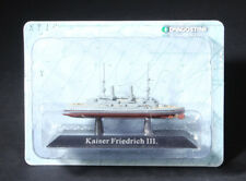 Deagostini German SMS Kaiser Friedrich III class Battleships 1/1250 Model