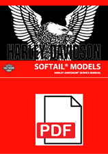 Harley Davidson 2006, 2016-2020 Softail Service Manual