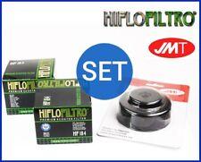 2x HIFLO FILTRO ACEITE HF184 + Llave Filtro de Aceite MALAGUTI SPIDERMAX 500 GT