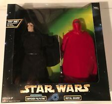 "12"" Emperor Palpatine & Royal Guard (MINT IN BOX) Star Wars **Unopened** Jedi"