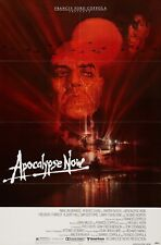 APOCALYPSE NOW (1979) ORIGINAL MOVIE POSTER  -  FOLDED  -  BOB PEAK ARTWORK