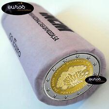 Rouleau 25 x 2 euros commémoratives PORTUGAL 2018 - Jardin Botanique d'Ajuda UNC