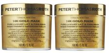 Peter Thomas Roth 24K Gold Pure Luxury Lift and Firm Mask Mask 5oz- 2 Pack