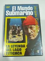 Jacques Cousteau el Mondo Subacqueo Legenda Del Lago Titicaca - DVD Regione All