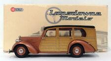 Lansdowne Models 1/43 Scale LDM21A - 1950 Lea-Francis Estate 4Dr Woody - Bronze