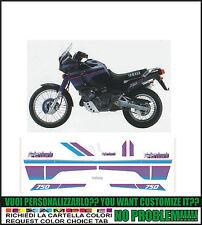 kit adesivi stickers compatibili xtz 750 super tenere 1991 black