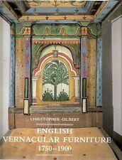 Englisch Mundart Möbel 1750-1900 by Christopher Gilbert 1991 Yale Univ