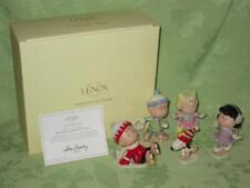 Lenox ~ Peanuts Ice Skating Party ~ set of 5 figurines ~ #850697