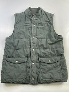 Save Khaki United Green Fleece Insulated Vest Men's Medium