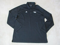 Adidas Miami Heat Long Sleeve Polo Shirt Adult Extra Large Basketball Dri Fit
