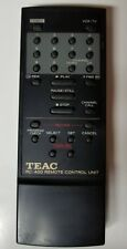 Teac RC-400 Remote Control Unit Controller Audio Video TESTED WORKS