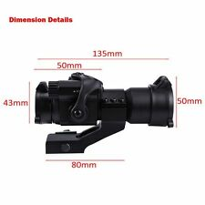 1 x 32 Green/Red Hunting Rifle Scope Red Laser Holographic Telescope Sight Scope