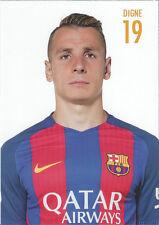 Postal postcard 19 DIGNE, jugador/player  FC BARCELONA 16/17 (10,5x15 cms)