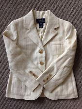 Boy Ralph Lauren Linen Sport Coat/jacket. Size 3/3T (2-3 Year) NEW RRP £380