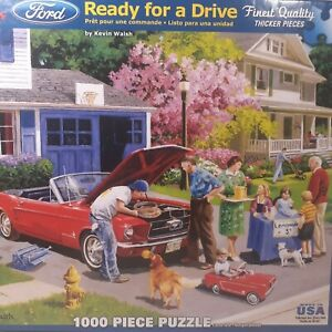 Ready For A Drive 1000 Piece Jigsaw Puzzle USED