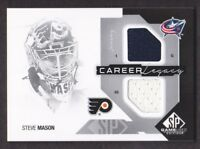 2014-15 SP Game Used Career Legacy Jersey #CL-SM Steve Mason Columbus-Flyers