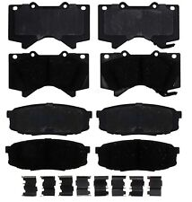 Front and Rear Pad Sets Kit ACDelco For Lexus LX570 Toyota Tundra Sequoia