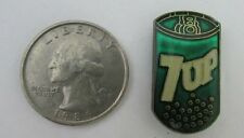 7 Up soda pop can advertising tie hat lapel pin