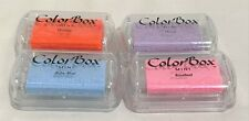 Colorbox Color Box MINI Pigment Ink Stamp Pads Lot of 4