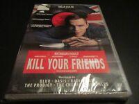"""DVD NEUF """"KILL YOUR FRIENDS"""" Nicholas HOULT, James CORDEN, Rosanna ARQUETTE"""