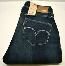Levi's Curve ID Bold Curve Low Rise Skinny Blue SZ 11/30 FREE SHIPPING BRAND NEW