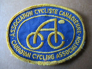 Canada Cycling Association Patch