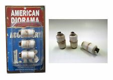 AMERICAN DIORAMA PROPANE TANK ACCESSORY 3 PIECES SET FOR 1:18 MODELS 23980