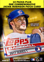 2017 Topps Series 1 Baseball Factory Sealed Blaster Box 10 Packs Quantity